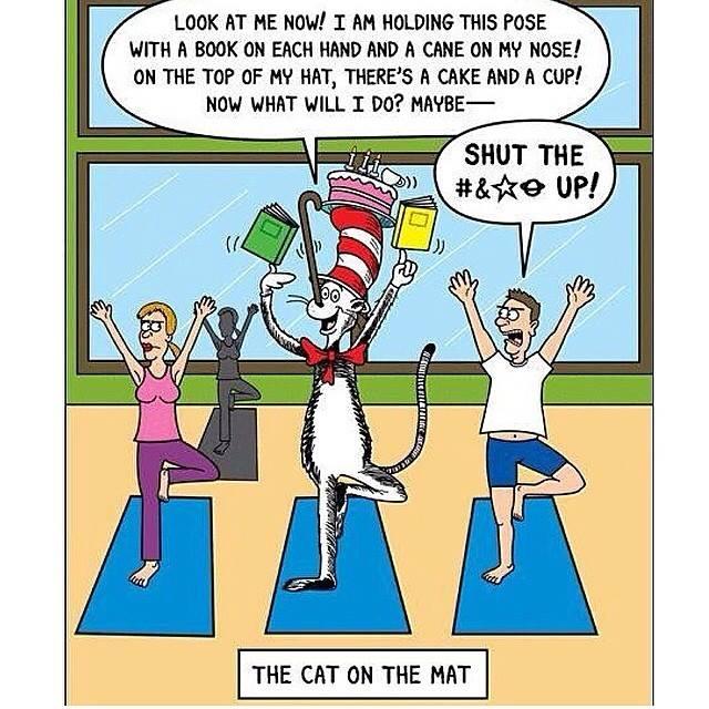 Yoga Jokes Humor